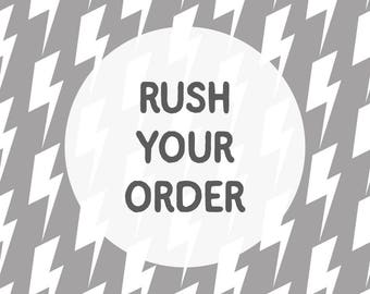 Rush Your Order - Ships in 1 business day - Please Read Details Carefully