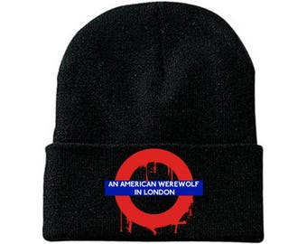 An American Werewolf In London beanie werewolves wolves horror comedy