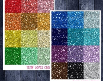 Weekend Sale Glitter Headers for ECLP or Happy Planner