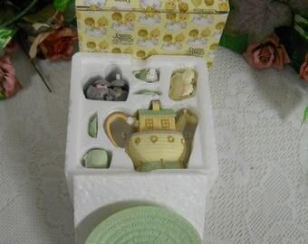 Precious Moments - Noahs Ark Mini Tea Set - IOB - EUC- Enesco #270121