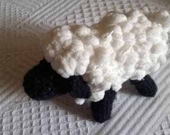 sheep black head toy or collectible toy