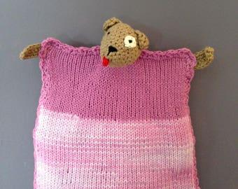 dog blanket knitting pattern