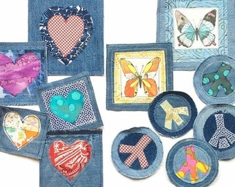 No sew adhesive  add on for ARTBYA Denim Patch