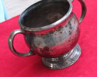 Vintage Oneida Community Silver Plated Sugar Bowl No Top Tarnish