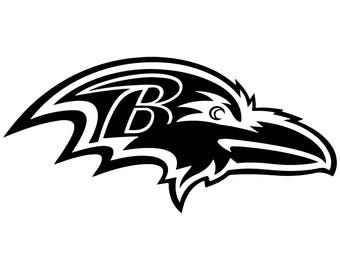 Baltimore Ravens Vinyl Sticker