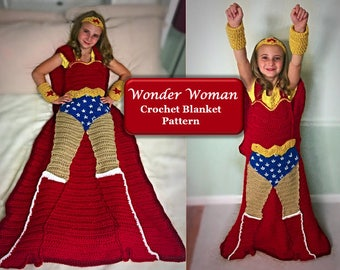 Crochet Wonder Woman | Etsy