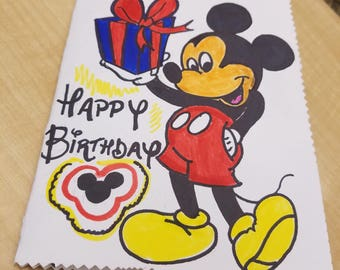 Mouse Themed Birthday Card
