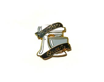 Kitchen Queen Enamel Pin