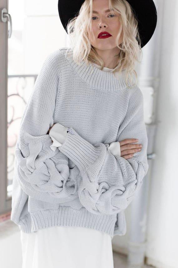 Sweaters Women's sweaters Cotton Sweater Oversized