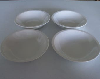 Mikasa Epiqure White Set Of Four Soup Bowls