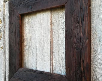 Old wood picture frame 49x47