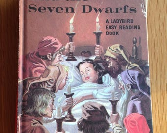 Vintage ladybird book Snow White and the Seven Dwarfs series 606 D