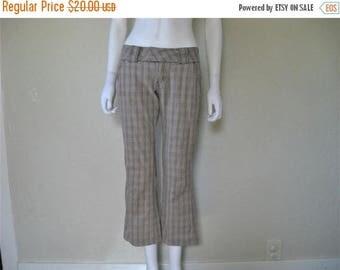 25% off SALE plaid pants