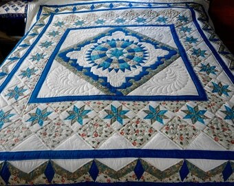 Amish Quilt - Stars Over the Georgetown Path