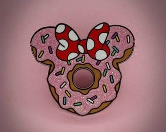 Minnie Donut - Enamel Pin