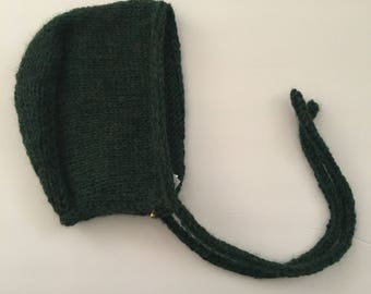 6-12 months Knitted Baby Bonnet
