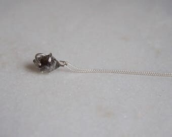 Gemstones - sterling silver and Herkimer - by Sticktails