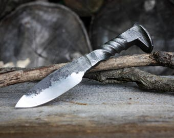 Full Twist Railroad Spike Knife