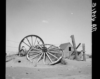 An abandoned farm. Cimarron County, Oklahoma, 1936