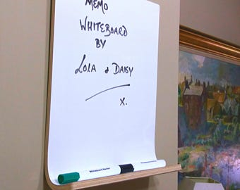 Whiteboard - Dry Erase Board with Shelf