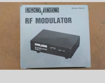 Vintage Provideo RF Modulator Model rfm 1a Mint New Old Stock In Box