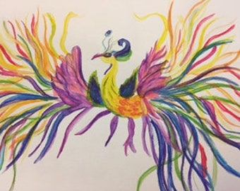 Colorful Phoenix Rising