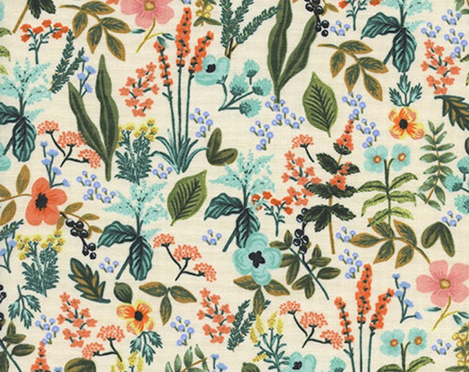 PRESALE: Herb Garden - Natural by Rifle Paper Co. for Cotton + Steel