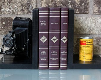 Vintage Kodak Junior Six-20 Folding Camera - Antique Decorative Camera Bookends