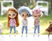 Doll clothes for Neo Blythe ,Licca .