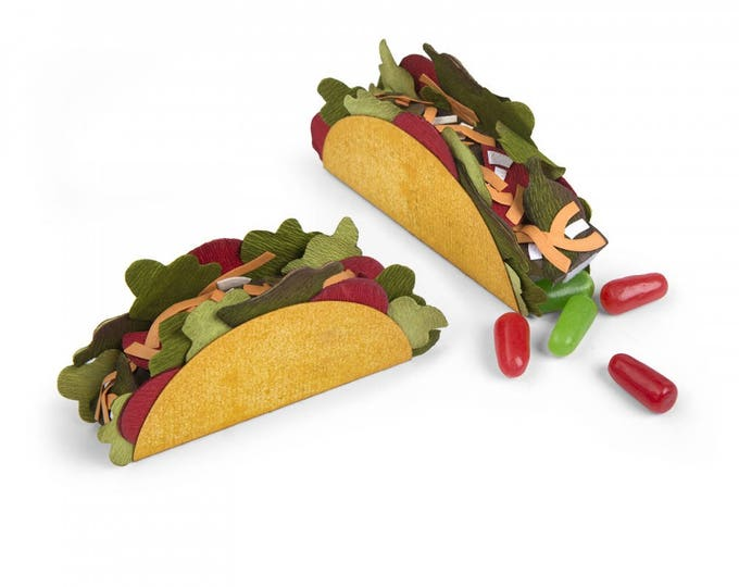 New! Sizzix Bigz Die - Mini Taco Box by Courtney Chilson 662441