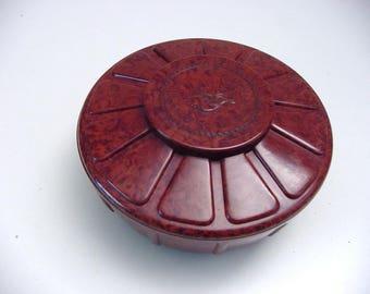 art deco bakelite chocolate box Martougin, Ebena Belgium