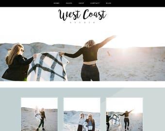 Wordpress Theme & Brand Suite - West Coast
