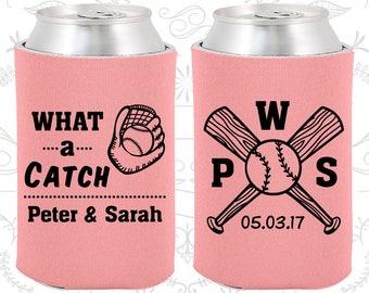 What a Catch, Wedding Reception, Sports Wedding, Baseball Wedding, Baseball Bat, Wedding Can Holders (43)