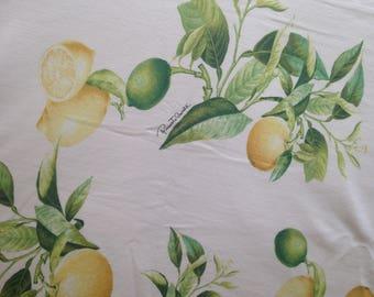 Authentic Roberto cavalli cotton fabric 94 cm X 145 cm