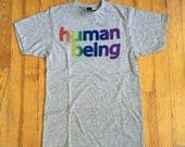 HUMAN BEING SHIRT / pride...