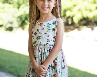 Mint Spring/floral dress
