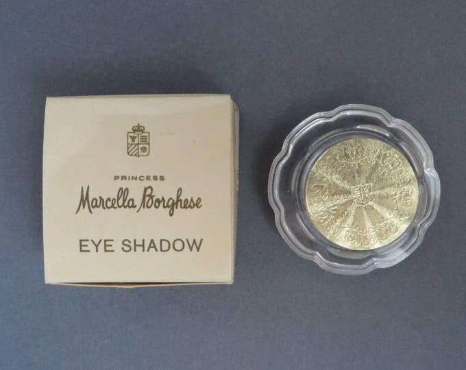 Vintage Marcella Borghese Eye Shadow - 1960s Blanco (White) - New Old Stock - Borghese Collector's Eye Makeup