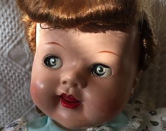 Vintage 1951-55 Ideal Saucy Walker doll