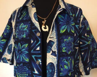 Vintage Hawaiian Shirt - XL