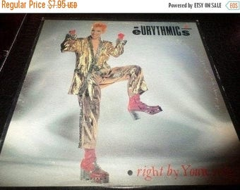 Save 30% Today Vintage 1983 Vinyl EP Record The Eurythmics Right By Your Side Excellent Condition