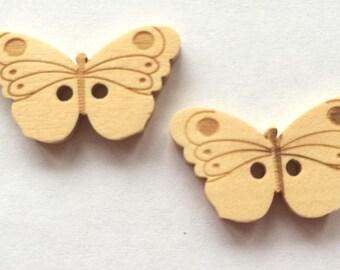 pretty wooden Butterfly