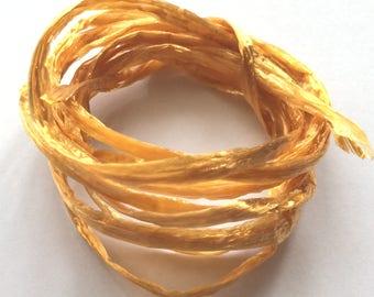 Golden beige color raffia