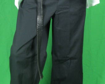 Navy Blue drawstring pants -  BARGAIN Size waist 40""
