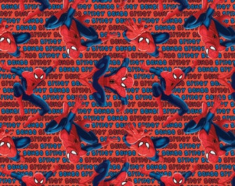 Marvel Fabric Spiderman Fabric Spidey Sense From Springs Creative 100% Cotton