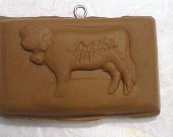 X 1 large square chocolate milk fimo