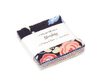 Bloomsbury - Franny & Jane - Moda - 42 Pieces - Mini Charm Pack - 47510MC