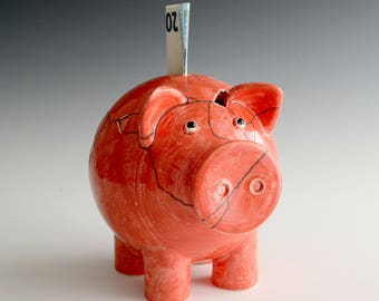 Piggybank ready to start second life