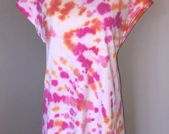 Plus size tie dyed beach cover up SALE