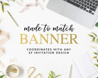 Made to Match Printable Banner