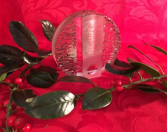 Walther Glas Solifleur Vases by Heiner Duesterhaus.